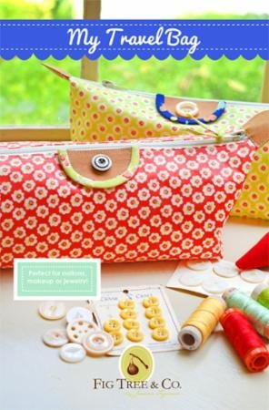 My Travel Bag by Fig Tree Quilts