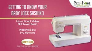 Getting to Know Your Sashiko