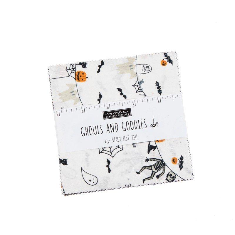 Ghouls  & Goodies Charm Pack - Stacy lest Hsu - Moda Fabrics - copy