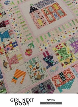 Girl Next Door Pattern by Lousie Papas -Jen Kingwell