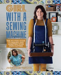 Girl With a Sewing Machine Book by Jennifer Taylor