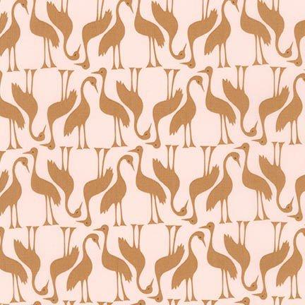 Cranes Gold - Pond - Elizabeth Hartman