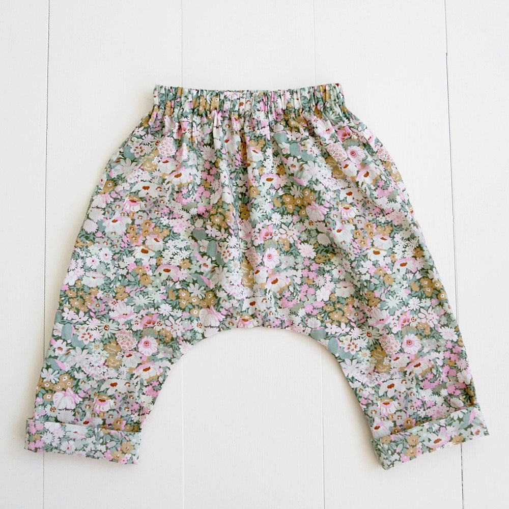 Baby and Toddler Harem Pants Pattern by Wiksten