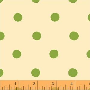 Spot in Green - Sugar Plum - Heather Ross