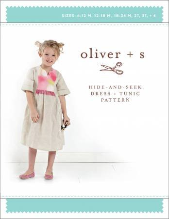 Hide and Seek Dress Pattern by Oliver and S