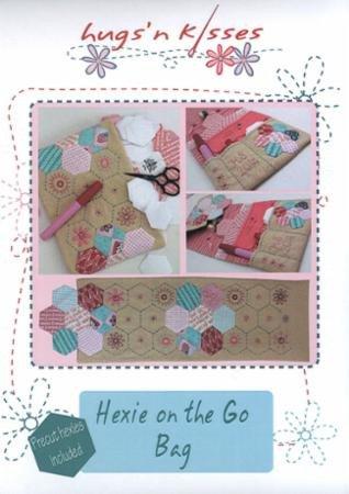 Hexie On The Go Bag Pattern by Hugs'n Kisses