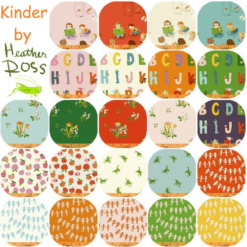 Fat Quarter Bundle - Kinder - Heather Ross