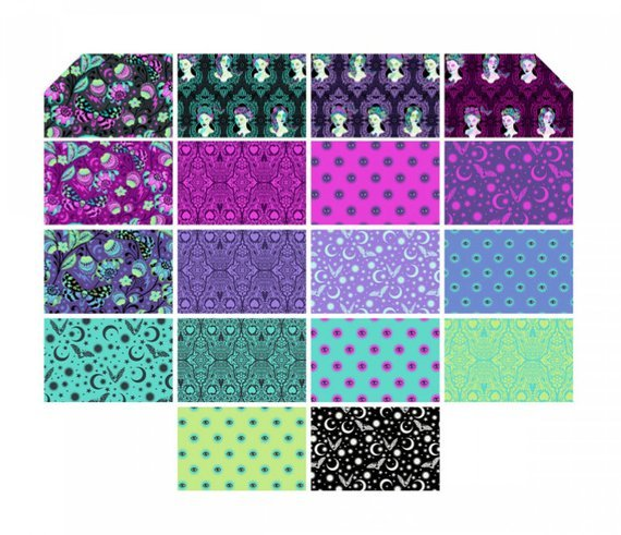 De La Luna Fat Quarter Bundle  - Tula Pink