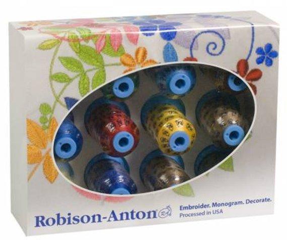 Robison-Anton Super Brite Poly 12 Mini Spools