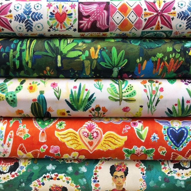 Fat Quarter Bundle - Viva Mexico - August Wren