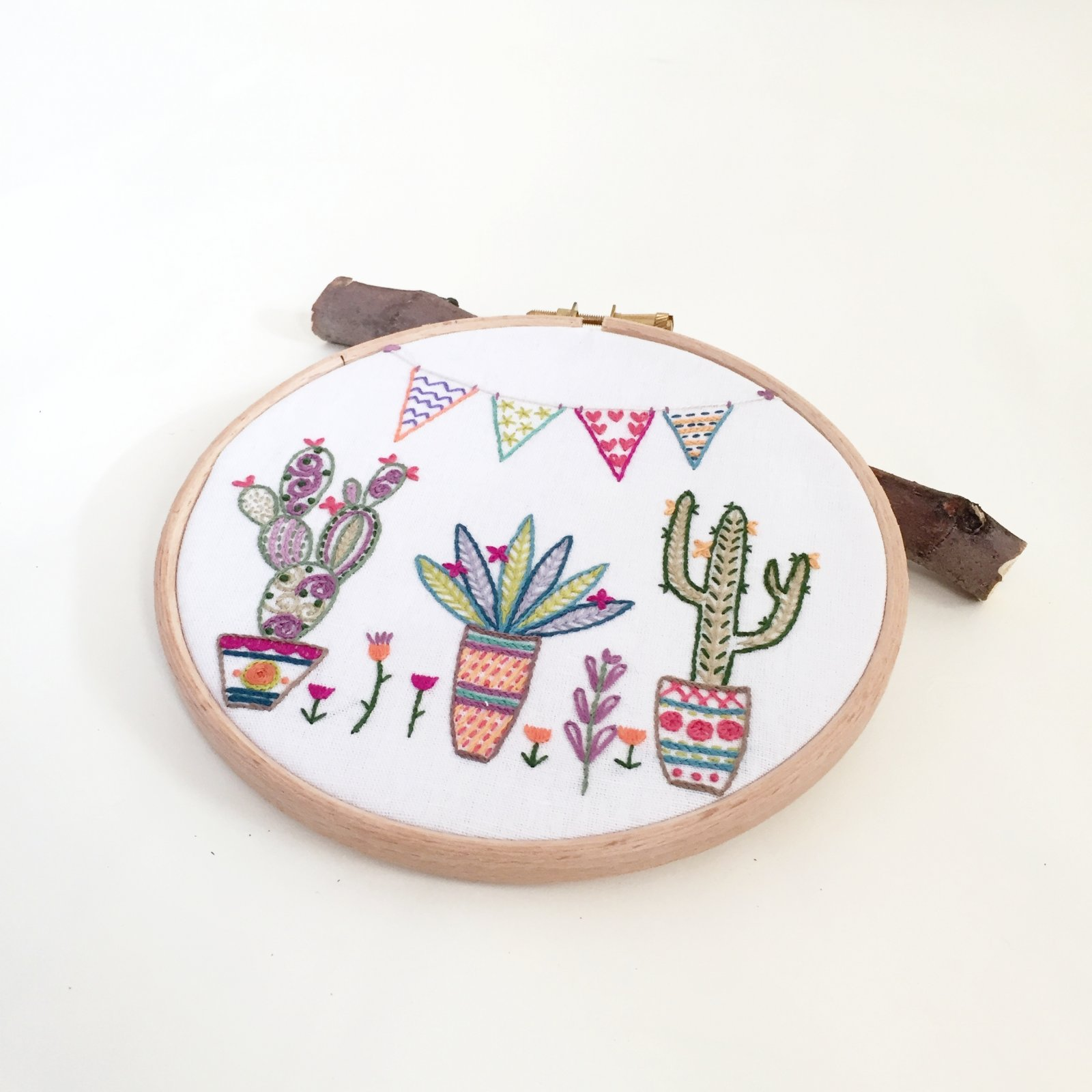 Mexico!!! - Un Chat Embroidery Kit