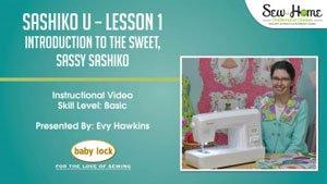 Sashiko U - Lesson 1