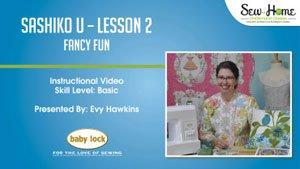Sashiko U - Lesson 2