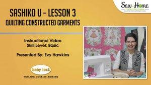 Sashiko U - Lesson 3