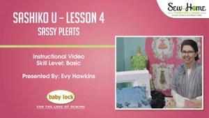 Sashiko U - Lesson 4