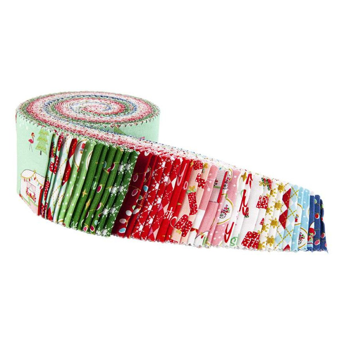 Christmas Adventure Jelly Roll - Beverly McCullough - Riley Blake Designs