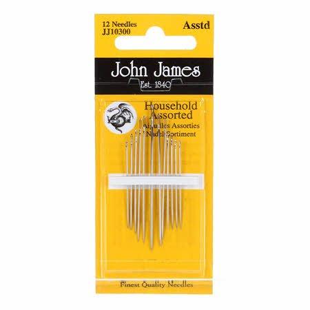 John James Household Assorted Needles