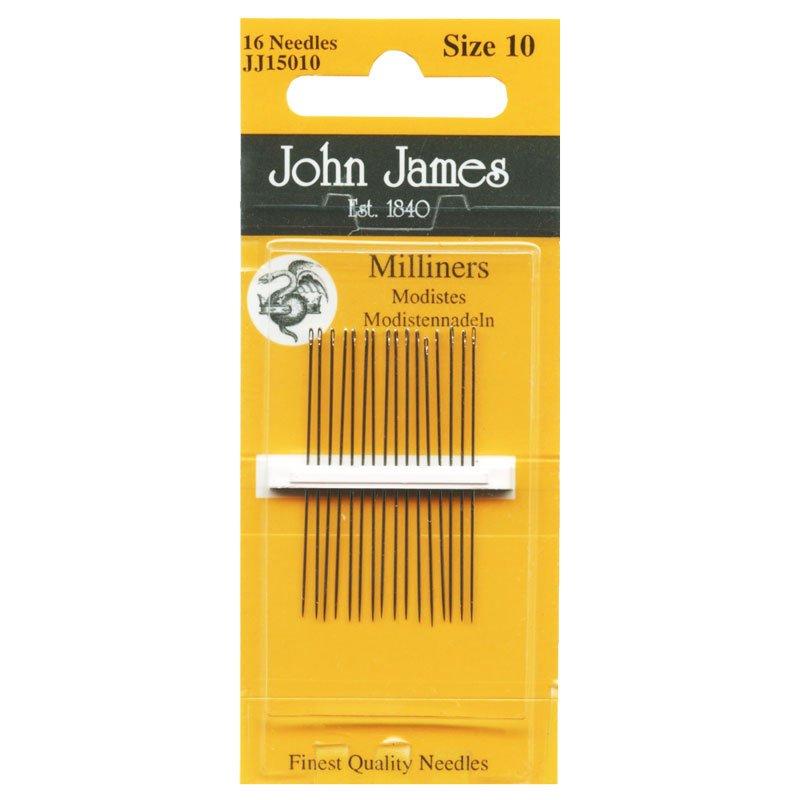 John James Milliners Needles Size 10