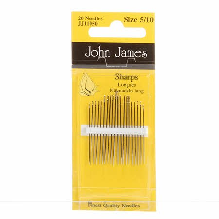 John James Sharps Needles Size 5/10