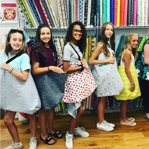 Summer Sewing Camp Level 2