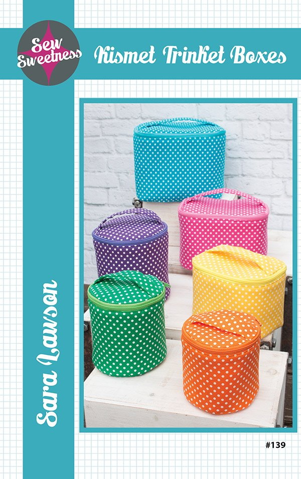 Kismet Trinket Boxes Pattern by Sew Sweetness