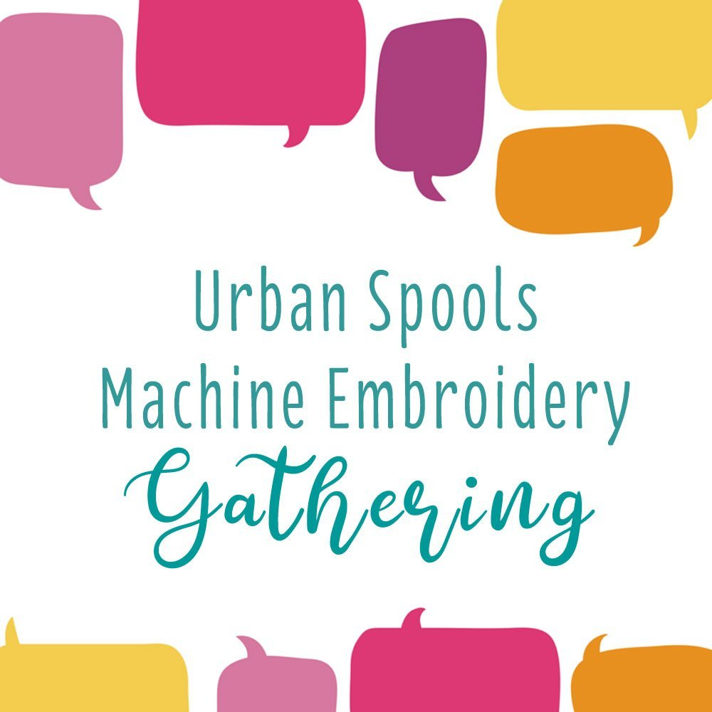 Machine Embroidery Gathering
