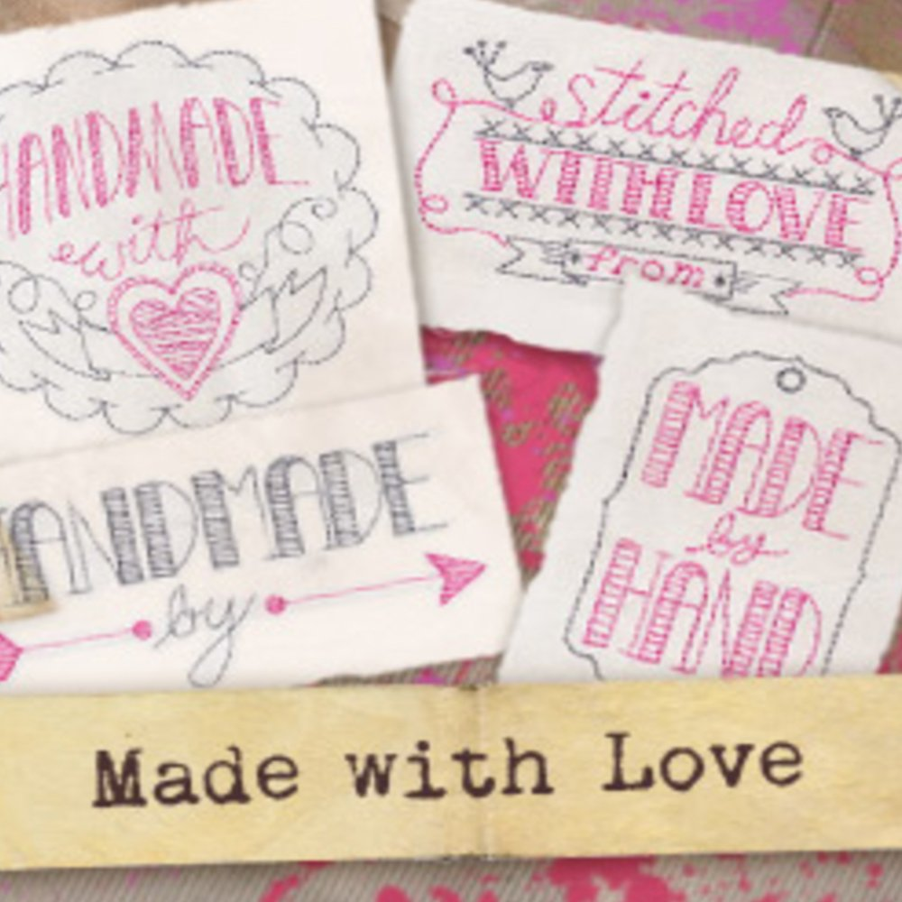 Machine Embroidery - Quilt Labels