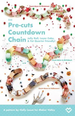 Pre-cuts Countdown Chain