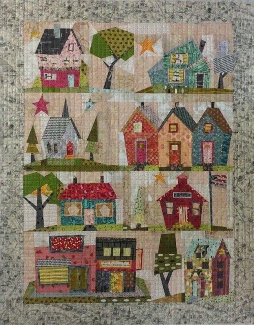 My Kinda Town  - Fiberworks Patterns - Laura Heine