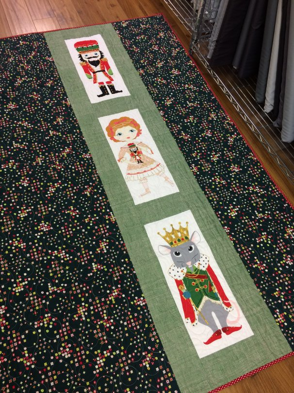 Nutcracker Quilt Kit - Green