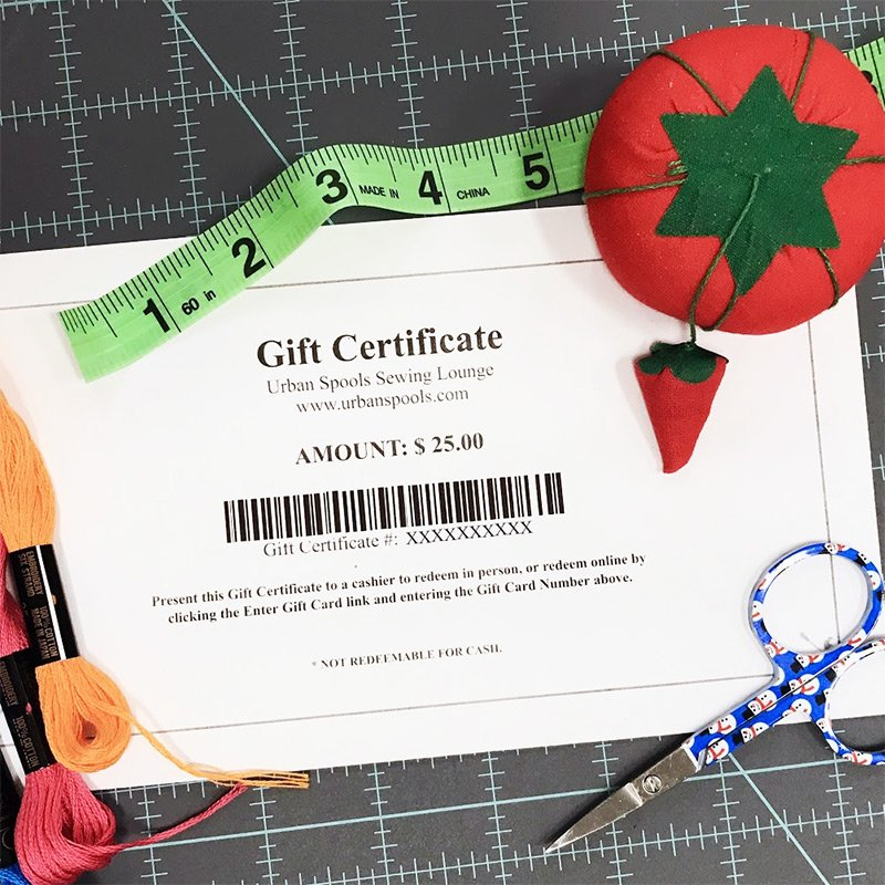 Example of the Digital Gift Card