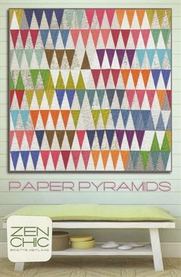 Paper Pyramids Quilt Pattern by Zen Chic