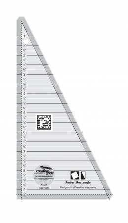 Creative Grids Perfect Rectangle Ruler 9.5