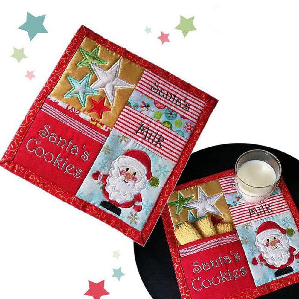 Santa's Cookies Placemat