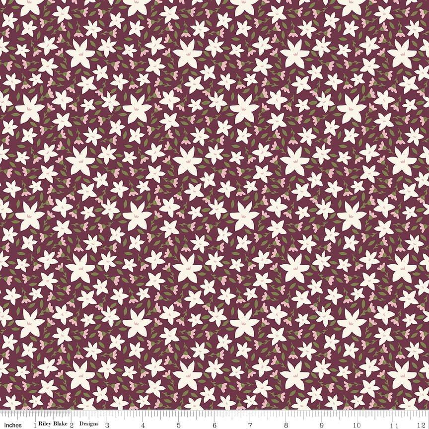 Posy Floral Purple - Posy Garden - Carina Gardner