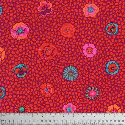 Guinea Flower in Red - Classics - Kaffe Fassett