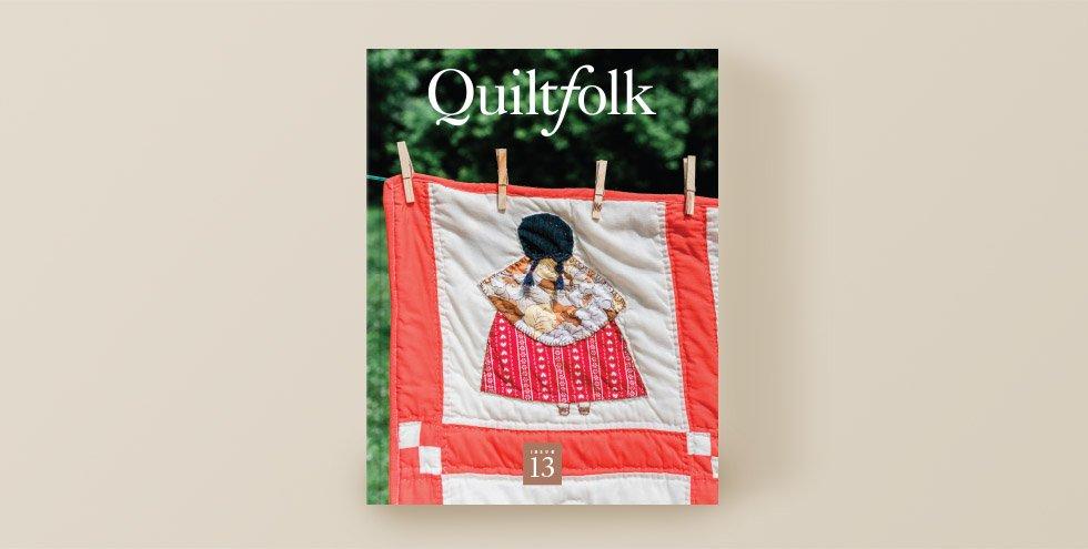 QuiltFolk Magazine - Minnesota - Volume 13