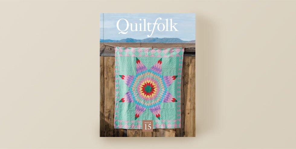 QuiltFolk Magazine - Nevada - Volume 15
