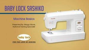 Sashiko Machine Basics