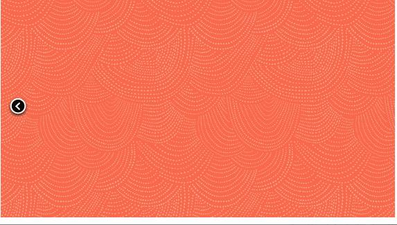Scallop Dot - Papaya - Dear Stella Designs -