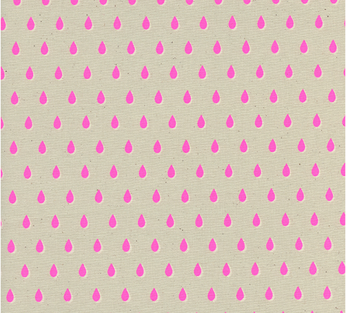 Drops Pink - Beauty Shop - Cotton and Steel