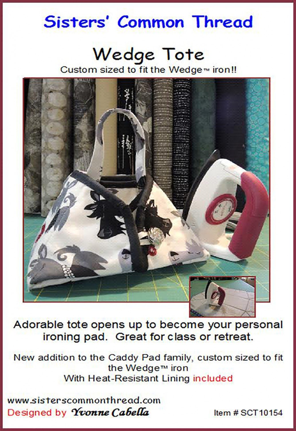 Wedge Tote Pattern