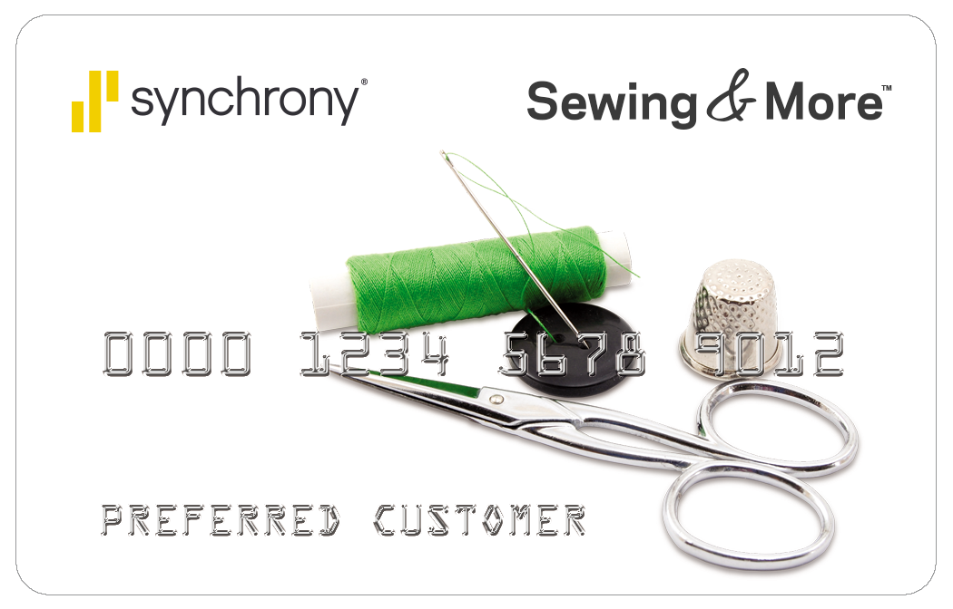 Synchrony Sewing & More Financing Card