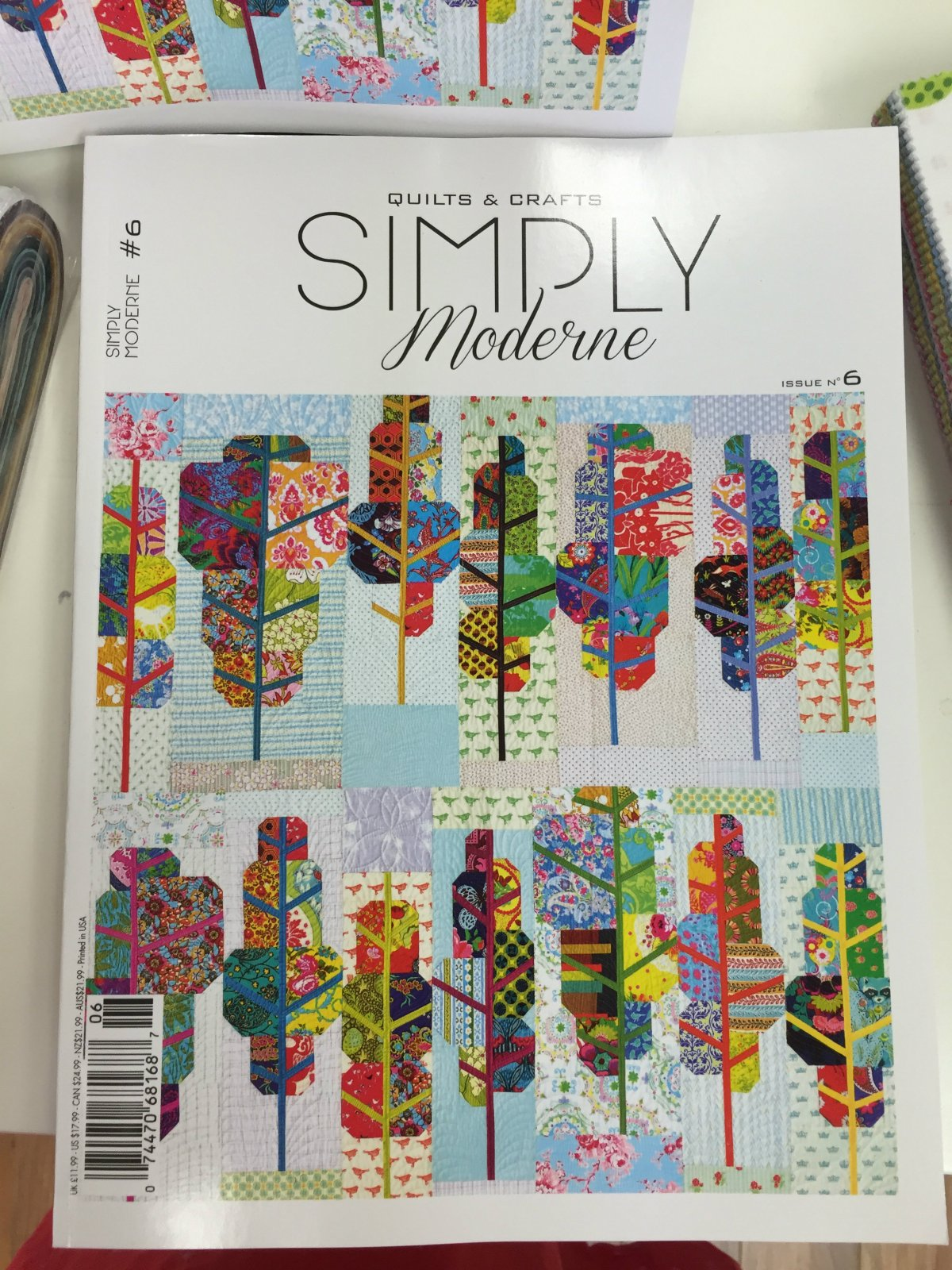 Simply Moderne Magazine by QuiltMania