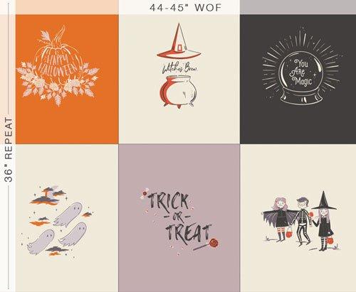 You Are Magic Panel - Spooky 'N Sweet - AGF Studio - Art Gallery Fabrics