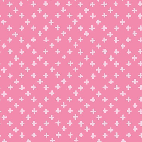 Tiny Crosses Pink - Hello Blossom - Ella Blue