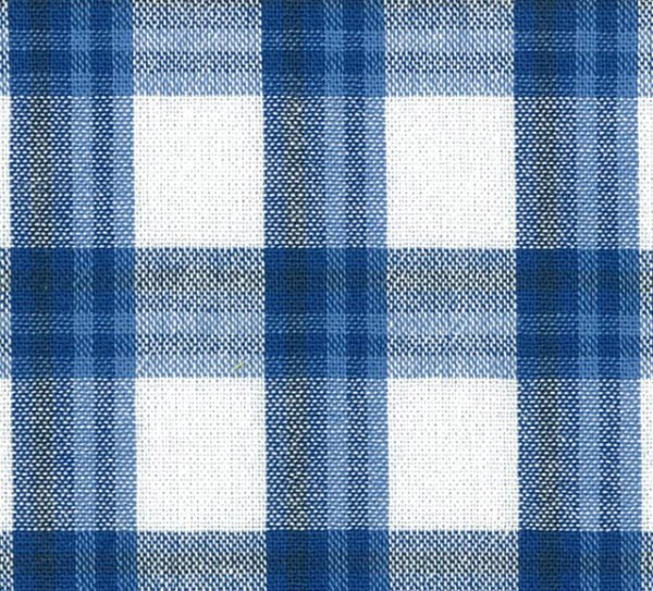 Yarn Dyed Check Blue White - Outback Wife - Gertrude Made