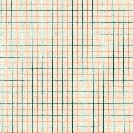 Thin Check Yarn Dyed: Willow - Harriot - Carolyn Friedlander