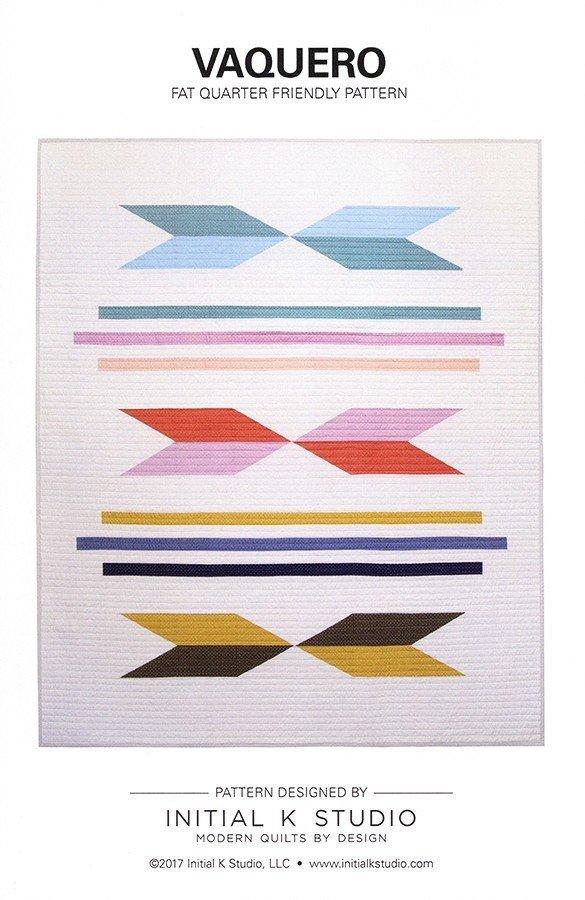 Vaquero Quilt Pattern - Initial K Studio