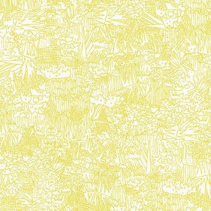 Green Wall Lawn Wasabi - Friedlander Lawn - Carolyn Friedlander